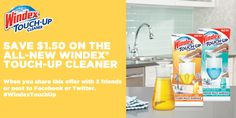 This is my new best friend.Check out this great offer on the latest innovation from Windex®.