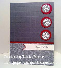 Paper Escape ~ Olivia Moore: Stampin'Up! Demonstrator Australia: cards