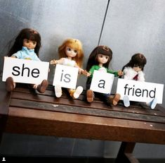 Lottie Dolls friendship friends girls blond hair dark hair girl power for sale on Little Citizens Win Online, Friends Girls, Dark Hair, Girl Power, Girl Hairstyles, Blond, Friendship, Cinema, Boutique