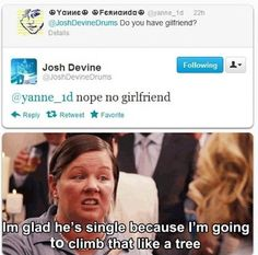 Josh Devine drummer for One Direction does not have a girlfriend..... What about tht girl??