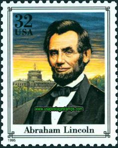 Commemorative Stamp | Commemorative Stamps: 32c Abraham Lincoln. End of American Civil War ...