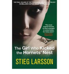 Lisbeth Salander confronts political corruption from her hospital bed while a killer lurks next door