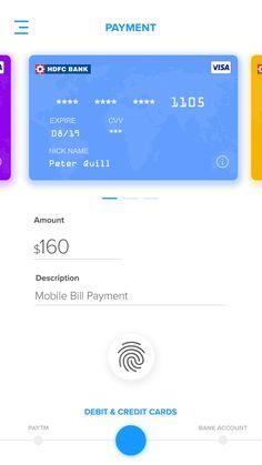 Fintech wallet Mobile Web Design, App Ui Design, Interface Design, Peter Quill, Coin App, Credit Card App, Iphone Ui, Card Ui, Ui Inspiration