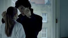 The look. #Sherlock