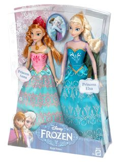 Amazon.com: Disney Frozen Royal Sisters Doll (2-Pack): Toys & Games