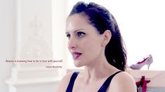 """""""Beauty is knowing how to be in love with yourself."""" Words of wisdom from designer, Ivana Basilotta. Beauty and value matters. Check out our luxurious ethical and eco-friendly #vegan shoes. Hear more what she has to say: https://www.youtube.com/watch?v=RuD0mTYCyBI"""