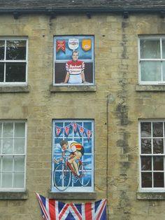 Knaresborough Yorkshire, Close To Home, Window Art, Union Jack, Recycling, To Go, Pencil, England, Crafty