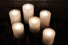 Wholesale: New Patent Globrite Candles available Fall of 2015. DelightedHome.com #globrite #flamelesscandles