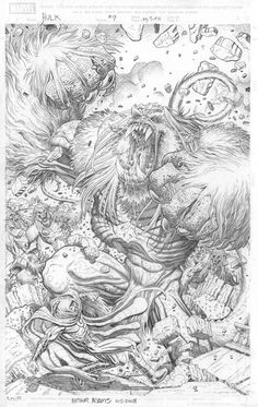 Hulk Ch 9 pg 5, Wendihulk by Arthur Adams//Arthur Adams/A/ Comic Art Community GALLERY OF COMIC ART