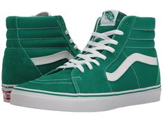 VANS VANS - SK8-HITM ((SUEDE CANVAS) ULTRAMARINE GREEN TRUE WHITE) SKATE  SHOES.  vans  shoes   c4f4a2e87