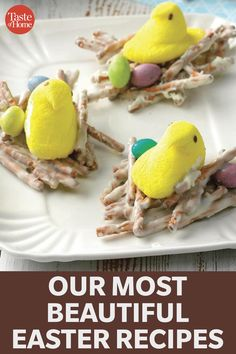 Our Most Beautiful Easter Recipes Easter Snacks, Easter Peeps, Easter Treats, Easter Desserts, Easter Candy, Easter Food, Spring Desserts, Spring Recipes, Holiday Recipes