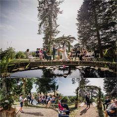 A beautiful, intimate destination wedding in France at the Chateau de Brametourte, captured by Wild Connections Photography. French Wedding, Wedding Ceremony, Destination Wedding, Dolores Park, Anna, Wedding Inspiration, France, Garden, Photography