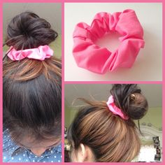 Make your own scrunchie that is quick and easy to do! Please like, subscribe, and comment! here's what you will need: fabric elastic fabric glue scissors ruler