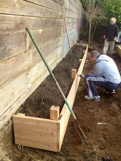 raised garden beds with fence - Google Search