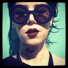 Kat * glasses * lips * aww