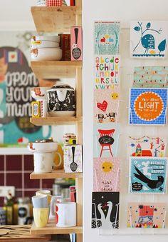 Personal interior: Dutch ceramics- and paperware designer Nina