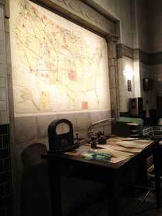 On Set at Supernatural: See Our Behind-the-Scenes Pics! Supernatural Bunker, Winchester Supernatural, Sam Winchester, Men Of Letters, Character Aesthetic, Destiel, Cold War, Writing Inspiration, On Set