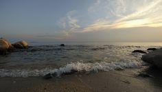 https://flic.kr/p/wwyA5p | Beach | Crepuscular hour on the beach of Chalkidiki