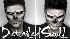 Pin for Later: The Best Halloween Makeup Tutorials From YouTube Skull