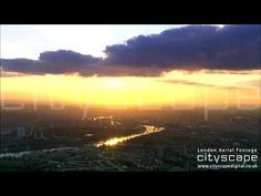 London Aerial Footage - London Clouds London Bridge, London City, Aerial Footage, London Eye, Northern Lights, Clouds, Sunset, Travel, Outdoor