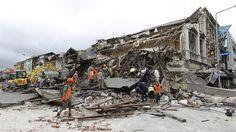 Broken Buildings in Christchurch City.
