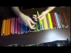 How To Organize Your Prismacolor Colored Pencils - YouTube