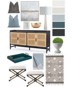 Guest Color Palette {Jenny from Evolution of Style}.. Trending Paint Colors, Popular Paint Colors, Favorite Paint Colors, Neutral Paint Colors, Exterior Paint Colors, Gray Color, Cabinet Paint Colors, Kitchen Paint Colors, Painting Shiplap