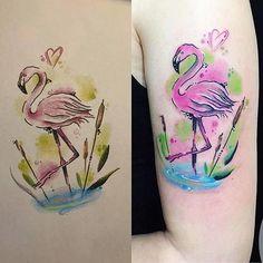 Watercolour 💘  Návrh na přání připravila a tetovala Veronica 👌🏻 www.tattoo-club.cz 📧 tattoo.club@email.cz  #watercolourtattoo #flamengotattoo #tetovanihradec #tetovanihradeckralove #hradeckralove #tattoo #tattooartveronica #veronicatattooartist #tattooclubhradec #tattooclubhradeckralove