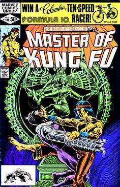 Master of Kung Fu #106 (Marvel Comics - November 1981)Illustrator: Gene Day