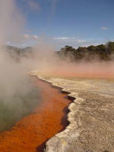 Rotorua Hot Springs; New Zealand