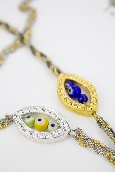 Evil Eye Collection is finally up on our Etsy site!   Check it out:  www.etsy.com/shop/fandfjewelry