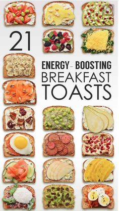 62 ideas for breakfast toast healthy meals Breakfast Toast, Breakfast Recipes, Diet Breakfast, Nutritious Breakfast, Lunch Recipes, Comida Diy, Healthy Snacks, Healthy Eating, Simple Healthy Recipes