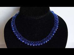 How To Make An Elegant Necklace With Beads - DIY Style Tutorial - Guidecentral - YouTube