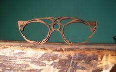 Wood Vintage Glasses Frames.