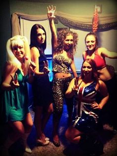The Spice Girls |  Fantastic Halloween Costume Ideas For '90s Girls..... This is too funny....in the 90s my friends and I were the spice girls for Halloween!!!!