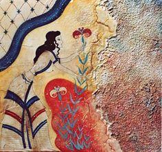 Minoan Goddess, 1200 BC