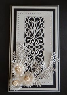 BJCrafty: New Creative Expression/Sue Wilson Dies – Cards – crfthold Tattered Lace Cards, Spellbinders Cards, Birthday Cards For Women, Marianne Design, Pretty Cards, Sympathy Cards, Flower Cards, Creative Cards, Anniversary Cards