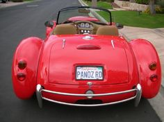 Panoz roadster for daddy