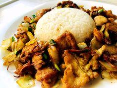Gai Pod Med Ma Muang czyli stir fry z orzechami o smaku popcornu Kung Pao Chicken, Stir Fry, Fries, Ethnic Recipes, Food, Essen, Meals, Yemek, Eten