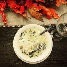 Mmmm..Zuppa Toscana. 😋👌❤✨ @ibakefilm // 11.21.16 #homemade #food #pslilyboutique #winter #eating #foodshare #instafood #foodstagram #dinner