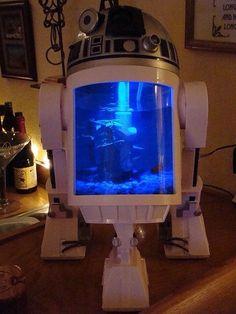 Star Wars R2-D2 fish tank