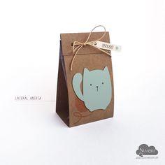 Caixinha para doces - Pet Gatinho