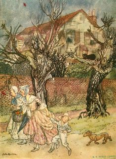 Sleepy Hollow - Marvellous Tales Of Haunted Fields - Arthur Rackham (1867 – 1939, English)