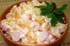 Крабово — апельсиновый салат: невероятно вкусный и легкий