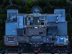 Jeffrey Milstein - NYC Met. Fotografia aerea NY, urbanlandscapes. Paisajes de la modernidad urbana. Geometria arquitectonica de la ciudad. Luces de Nueva York. #iconocero