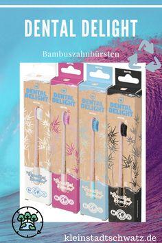 Werbung - Die neuen Beautiful Bamboo Bambuszahnbürsten von Dental Delight schützen nicht nur die Zähne, sondern auch den Planeten. #bambuszahnbürste #nachhaltig #vegan #zahnpflege #klimaneutral #biologischabbaubar Dental, Bamboo, Blog, Vegan, Lifestyle, Shopping, Beautiful, Dental Health, Planets