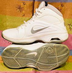 premium selection 51649 308a0 Nike Air Visi Pro 3 White Silver Basketball Shoes Size 6.5 525747-101   fashion