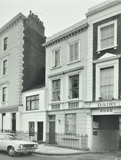 1a Moreton Terrace, Westminster LB: by Lupus Street