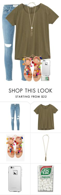 """IM GETTING PIZZA"" by elizabethannee ❤ liked on Polyvore featuring Frame Denim, Lee, Elina Linardaki, Cole Haan and LifeProof"