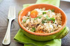 quinoa salad with feta and chia seeds